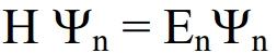 Schrödinger-Gleichung (zeitunabhängig)